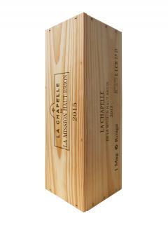 ラ・シャペル・ドゥラ・ミッション・オブリオン 2015 マグナム一本入、産地木製ケース入(1x150cl)