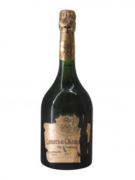 シャンパーニュ テタンジェ コント・ドゥ・シャンパーニュ ロゼ ブリュット 1983 ボトル(75cl)