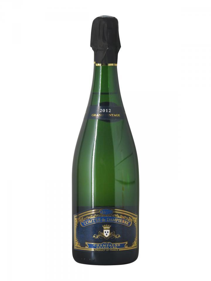 シャンパーニュ ダンピエール伯爵 グラン・ヴィンテージ ブリュット グラン・クリュ 2012 ボトル(75cl)
