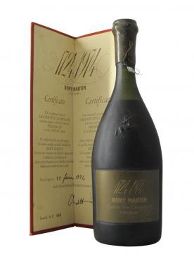 コニャック 1974年に250周年を迎える、1724 年物グランド・フィーヌ・シャンパーニュ 第1級 プロミエ・クリュ レミー・マルタン ミレジメなし ボトル1本入ボックス(70cl)