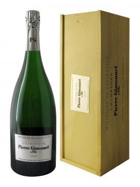 シャンパーニュ ピエール・ジモネ親子会社 シャルドネの歴史あるブドウ園 ブリュット 2005 マグナム(150cl)