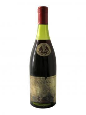 コルトン グラン・クリュ グランセ ルイ・ラトゥール 1957 ボトル(75cl)