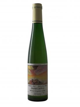 リースリング グラン・クリュ ツィンコフレ セレクション・ドゥ・グレン・ノーブル(大切に栽培され念入りに手で収穫されるブドウの選択、と言う意味のAOP保護原産地呼称) セピ・ランドマン 1988 ハーフボトル(37.5cl)