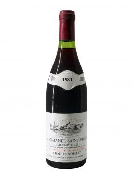 ロマネ・サン・ヴィヴァン グラン・クリュ ドメーヌ・シャルル・ノエラ 1981 ボトル(75cl)