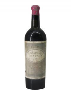 シャトー・ショヴァン 1929 ボトル(75cl)