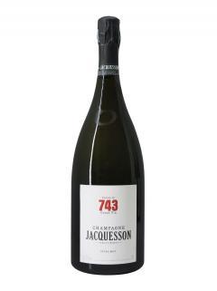 シャンパーニュ ジャクッソン Cuvée n°743 エキストラ・ブリュット ミレジメなし マグナムボトル(150cl)箱入り