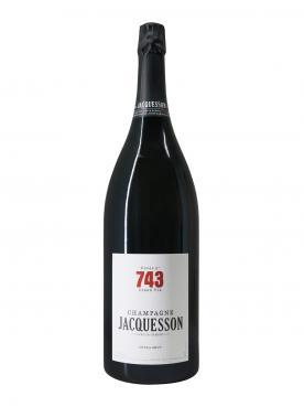 シャンパーニュ ジャクッソン Cuvée n°743 エキストラ・ブリュット ミレジメなし ジェロボーム1本、産地木製ケース入(1x300cl)