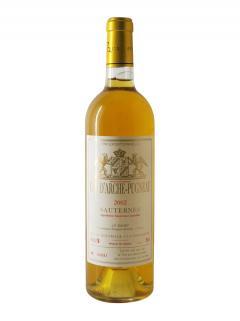 クリュ*・ダルシュ・ピュニョー(*クリュはブドウ畑や醸造所で格付け制度で使われる言葉) トリ・エクセプショネル 2002 ボトル(75cl)