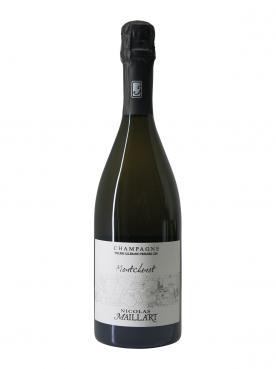 シャンパーニュ ニコラ・メイラー(Nicolas Maillart) Montchenot ブラン・ドゥ・ノワール(ピノ・ノワールなどの赤い色ブドウから作られるシャンペン) エキストラ・ブリュット 第1級クリュ ミレジメなし ボトル(75cl)