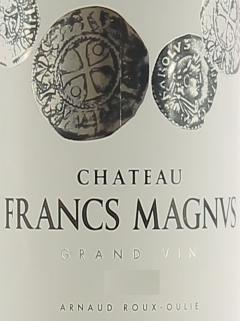 Chateau Francs Magnus 2020 ボトル(75cl)
