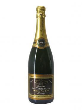 シャンパーニュ Charles de Cazanove  Millésimé ブリュット 1990 ボトル(75cl)