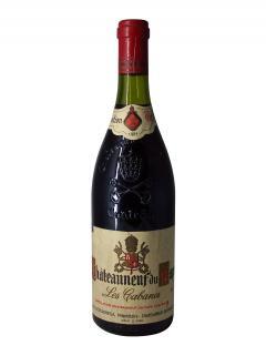 シャトーヌフ・デュ・パップ シャルル・デカレガ レ・カバンヌ 1981 ボトル(75cl)