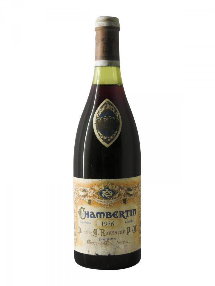シャンベルタン グラン・クリュ ドメーヌ・アルマン・ルソー 1976 ボトル(75cl)