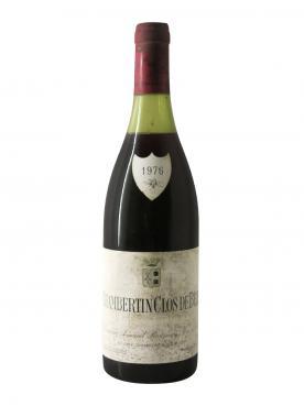 シャンベルタン・クロ・ドゥ・ベーズ グラン・クリュ ドメーヌ・アルマン・ルソー 1976 ボトル(75cl)